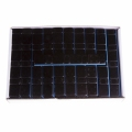Ciężarek klejony (5+10)x4 (FE) 60g czarny płaski (100 szt)